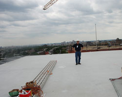 Helicopter Landing Pad Installation