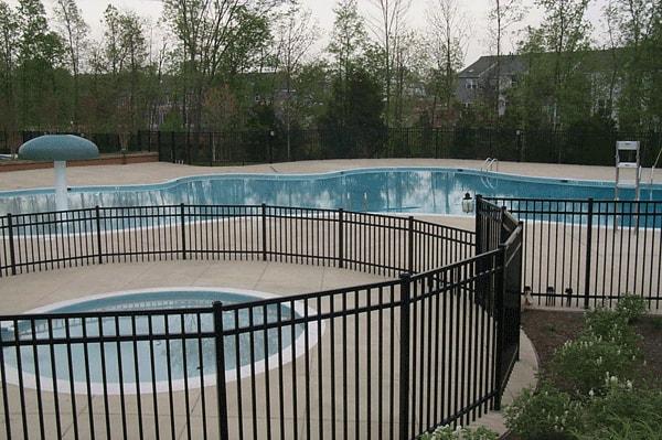 Ornamental Pool Fence
