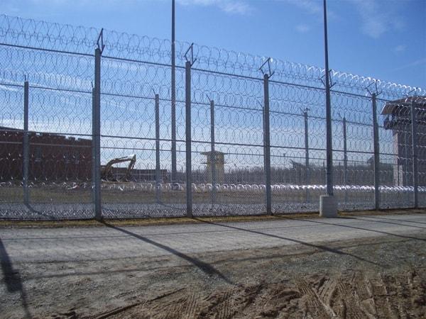 Razor Ribbon Prison Fence