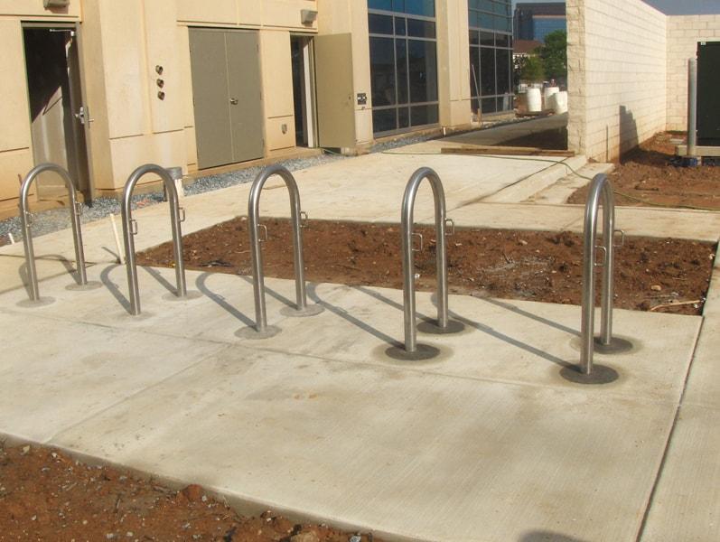 Stainless Steel Bicycle Racks